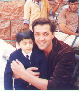 ajay with Bobby Deol